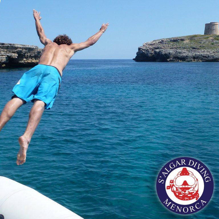Excursion en bateau avec S'Algar Diving