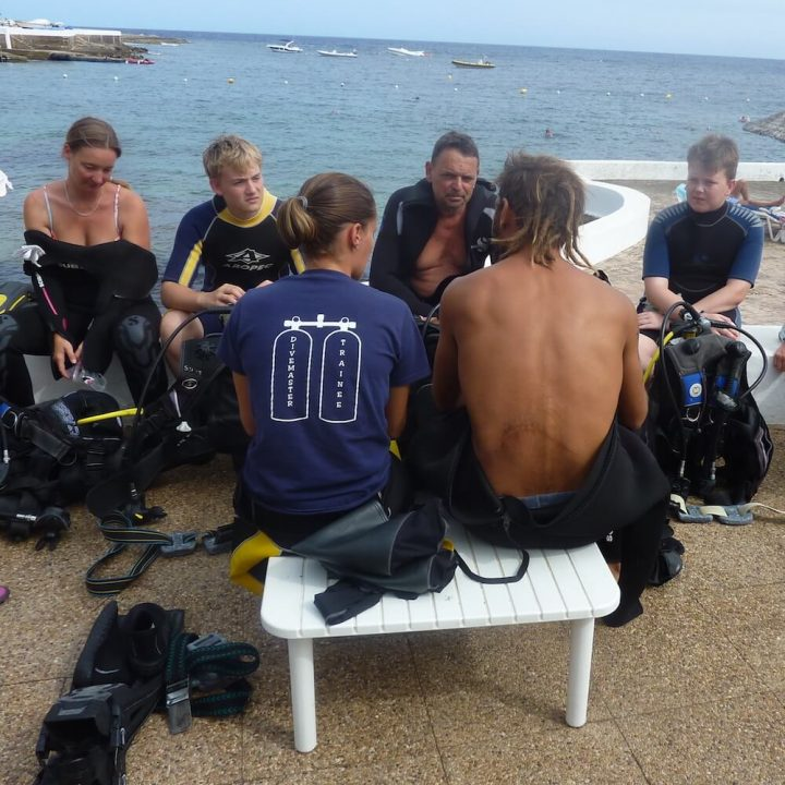 PADI Discover Scuba Diving DSD or Try-Dive, Menorca