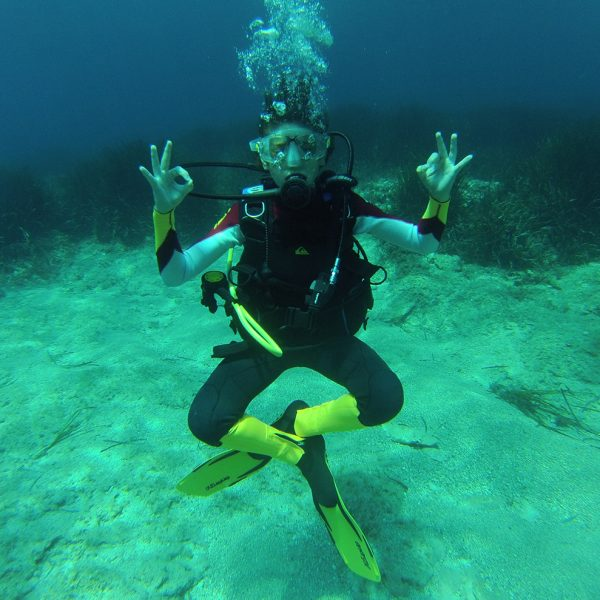 Bay Dive Refresher   S'Algar Diving, Menorca